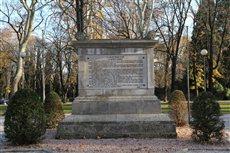 Ara caduti per l'Italia e Colonna caduti per l'Austria-Ungheria